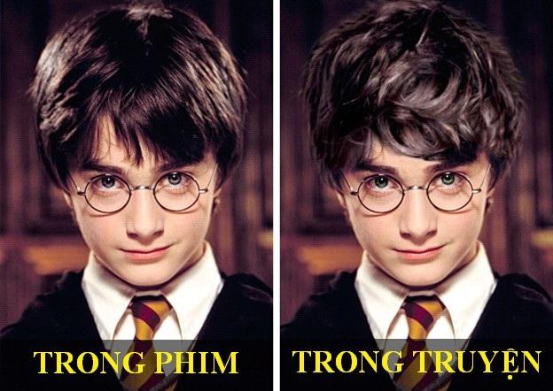 Tạo hình nhân vật phim Harry Potter thay đổi thế nào so với bản gốc? - 1