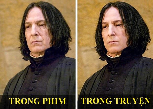 Tạo hình nhân vật phim Harry Potter thay đổi thế nào so với bản gốc? - 4