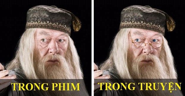 Tạo hình nhân vật phim Harry Potter thay đổi thế nào so với bản gốc? - 5