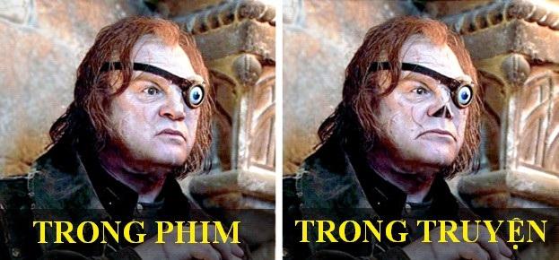 Tạo hình nhân vật phim Harry Potter thay đổi thế nào so với bản gốc? - 6