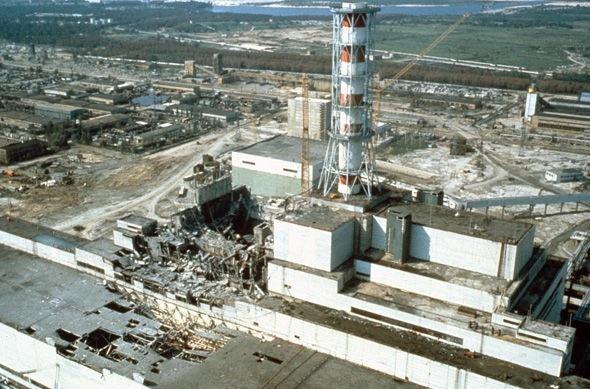 Ngày 26/04/1986, một lò phản ứng hạt nhân phát nổ tại Chernobyl.