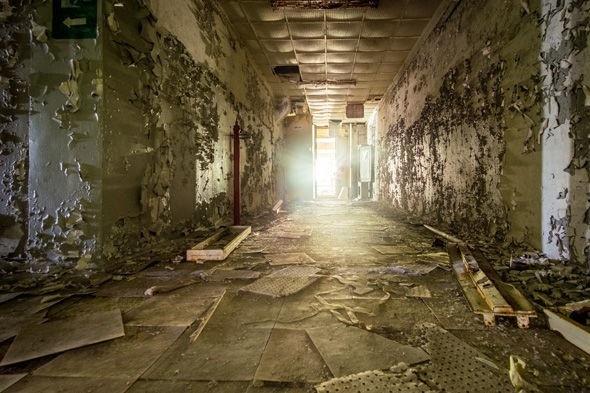 Chernobyl bị bỏ hoang.