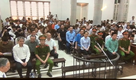Nguyễn Xuân Sơn bị đề nghị tử hình, Hà Văn Thắm chung thân