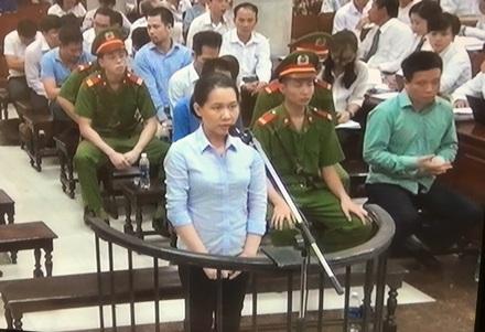 Bị cáo Nguyễn Thị Minh Thu.