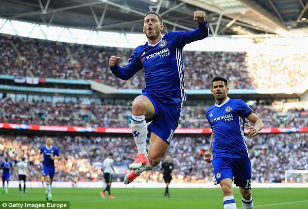 Hazard chơi ấn tượng sau mùa giải bệ rạc
