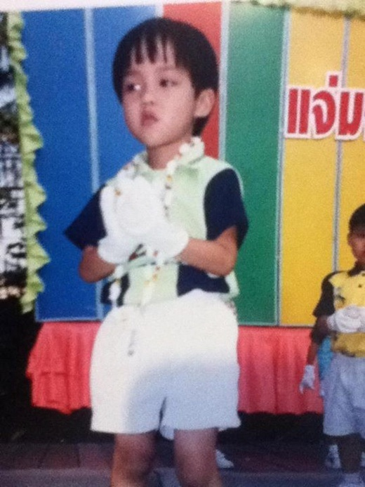 Yoshi Rinrada Thurapan khi còn là một cậu bé.