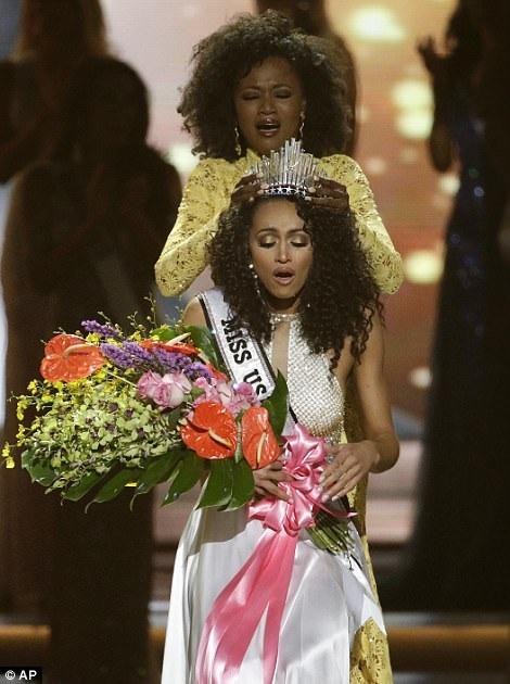 Kára McCullough, 25 tuổi, đã đăng quang tại cuộc thi Hoa hậu Mỹ 2017.