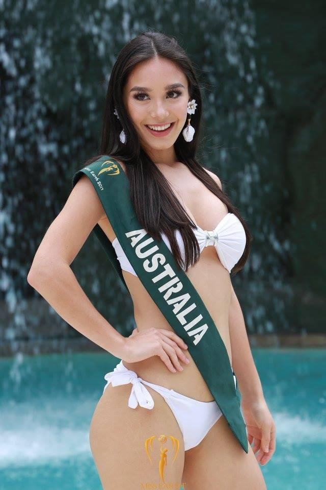 Mãn nhãn với phần trình diễn áo tắm của Hoa hậu Trái đất 2017 - 28