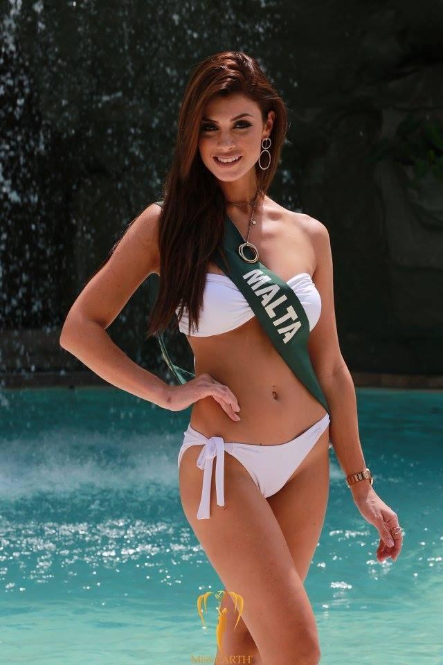 Mãn nhãn với phần trình diễn áo tắm của Hoa hậu Trái đất 2017 - 34