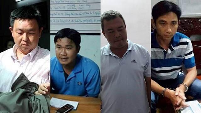 4 trong 9 bị can bị đề nghị truy tố
