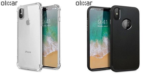 Hình ảnh hoàn chỉnh iPhone 8 được lộ diện qua hình ảnh lớp vỏ bảo vệ của Olixar