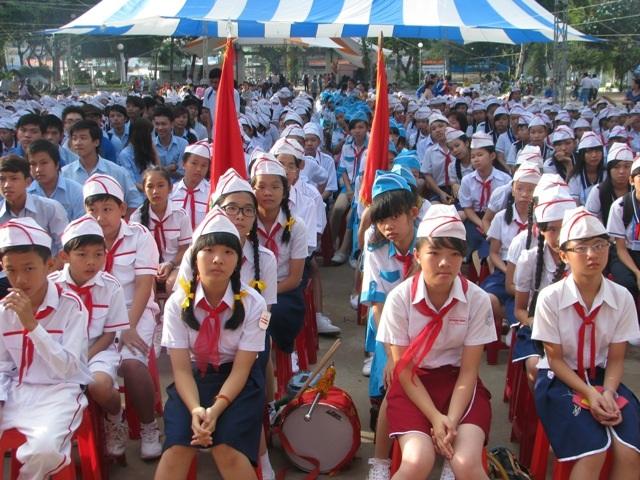Học sinh tỉnh Cà Mau tựu trường khá muộn so với một số tỉnh trong khu vực ĐBSCL. (Ảnh minh họa)