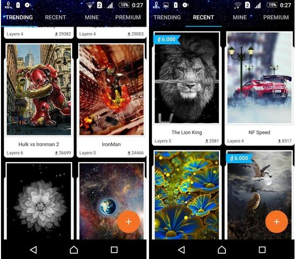 Hình nền với hiệu ứng 3D thay đổi theo góc nhìn cực đẹp dành cho smartphone - 1