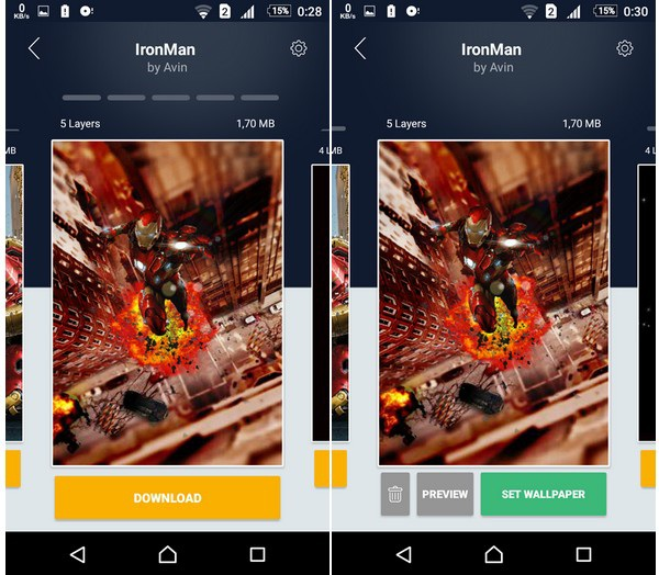 Hình nền với hiệu ứng 3D thay đổi theo góc nhìn cực đẹp dành cho smartphone - 2