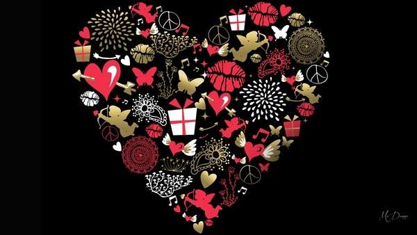 """Bộ sưu tập hình nền chủ đề """"tình yêu"""" cực lãng mạn cho ngày Valentine - 24"""