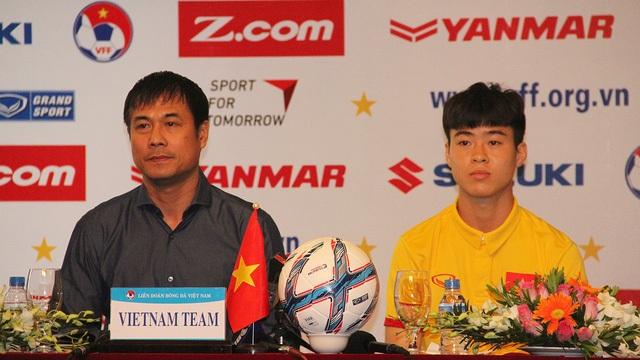HLV Hữu Thắng thể hiện rõ quyết tâm muốn đánh bại U22 Malaysia