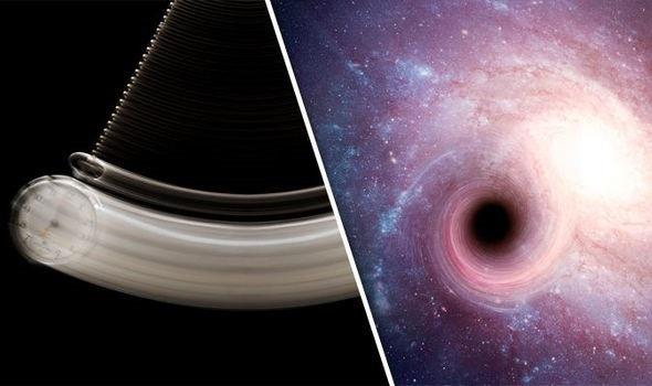 Các hố đen là chìa khóa để du hành xuyên thời gian - 1