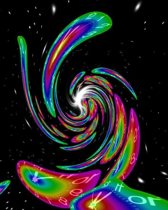 Các hố đen có thể bóp méo thời gian.