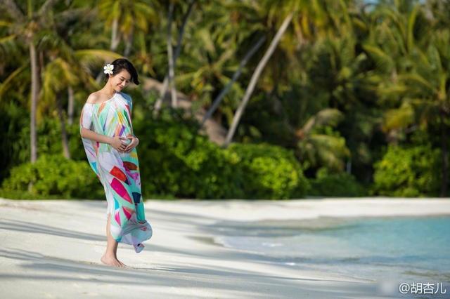 Hồ Hạnh Nhi không tiết lộ giới tính cũng như thông tin về cái thai trong bụng. Song, người hâm mộ đự đoán người đẹp của TVB có lẽ đã mang thai hơn 3 tháng.