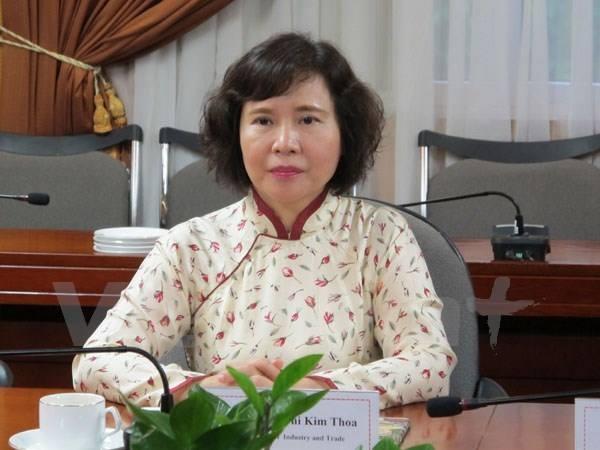 Thứ trưởng Hồ Thị Kim Thoa không nằm trong diện được xin thôi việc do đang bị kỷ luật.