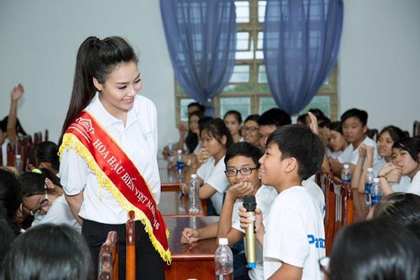 Hoa hậu Biển Thùy Trang làm Đại sứ Ngày môi trường thế giới - 3
