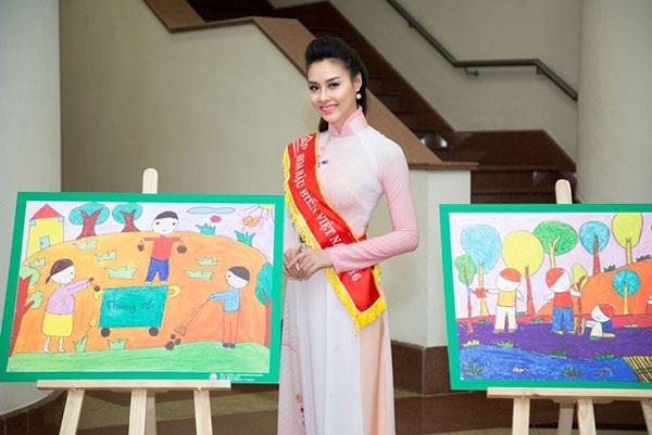Hoa hậu Biển Thùy Trang làm Đại sứ Ngày môi trường thế giới - 5