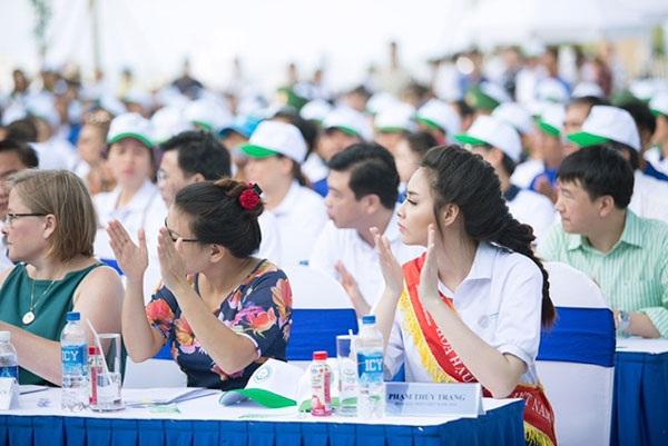 Hoa hậu Biển Thùy Trang làm Đại sứ Ngày môi trường thế giới - 4