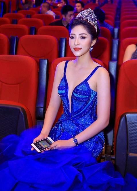 Hoa hậu Đại dương 2014 - Đặng Thu Thảo trong đêm chung kết Hoa hậu Đại dương 2017