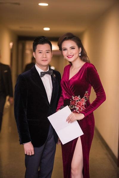 Hoa hậu Diễm Hương quyến rũ làm MC - 7