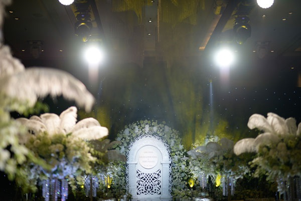 Tiết lộ hậu trường tiệc cưới của Hoa hậu Thu Ngân - 12