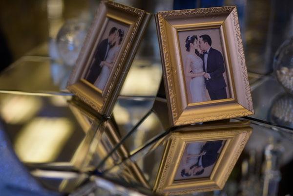 Một số hình ảnh tiệc cưới của Hoa hậu Thu Ngân.