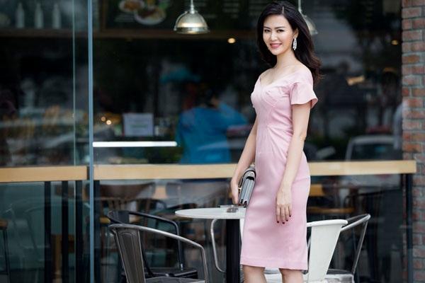 Hoa hậu Thu Thủy vẫn rất quyến rũ ở tuổi 40.