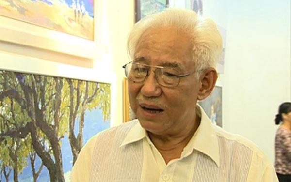 Họa sĩ Trần Khánh Chương, Chủ tịch Hội Mỹ thuật Việt Nam.