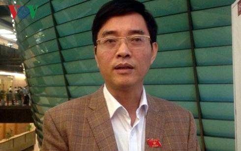 ĐBQH Hoàng Quang Hàm: Thuế tài sản nên trở thành một nguồn thu chính. Ảnh: VOV
