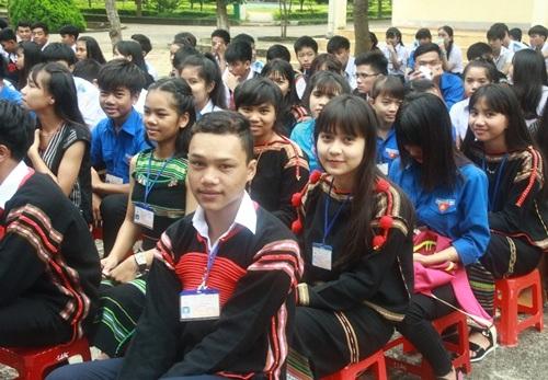 185 học sinh dân tộc thiểu số trúng tuyển vào trường THPT Dân tộc nội trú Nơ Trang Lơng