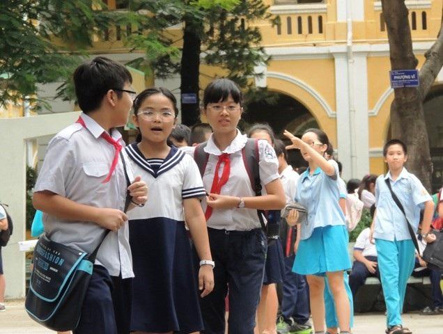 Đầu vào cào bằng khiến các trường bắt buộc phải phân loại học sinh sau mỗi học kỳ
