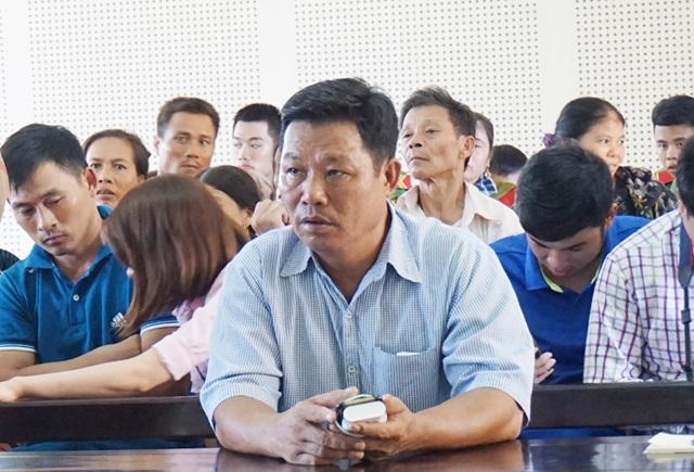 Bị cáo Điều cho rằng, toàn bộ sự việc đều đã được báo cáo, xin ý kiến chỉ đạo của ông Đậu Quang Hòa - Trưởng Công an xã Diễn Hải