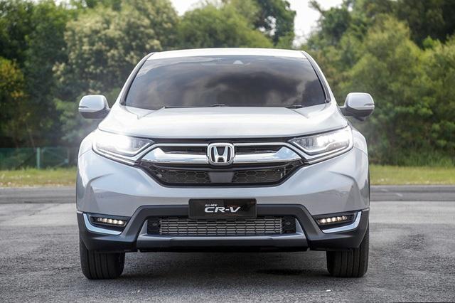 Honda CR-V mới với 7 chỗ tại Malaysia