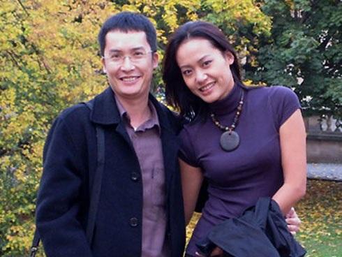 Đạo diễn Hồng Ánh và chồng