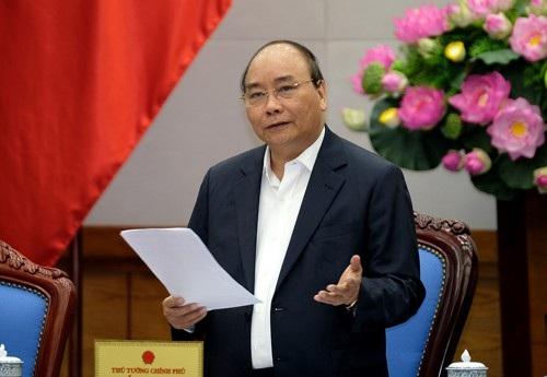 Thủ tướng: Không để có tình trạng lấy nghị quyết năm ngoái để làm năm nay.