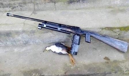 Loại súng cồn tự chế người cậu đã vô tình bắn trúng mắt cháu (ảnh minh họa)