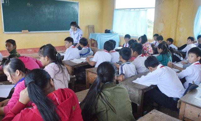 Học sinh các tỉnh đã trở lại học bình thường từ sáng ngày 27/12 sau bão số 16.