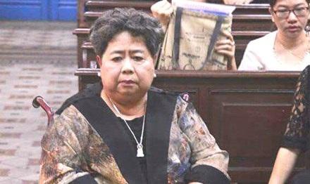 """Bà Hứa Thị Phấn trong một lần dự phiên tòa """"đại án"""" VNCB. Ảnh: Tân Châu."""