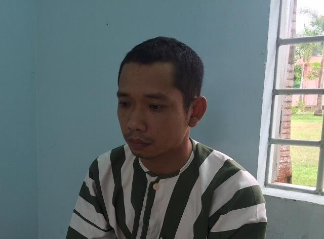 Bị can Lê Lâm Hưng tại trại tạm giam (ảnh công an cung cấp)