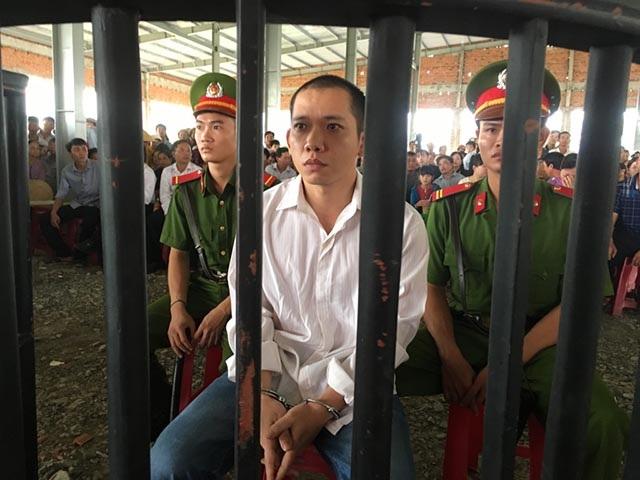 Lê Lâm Hưng tại phiên xét xử sáng nay