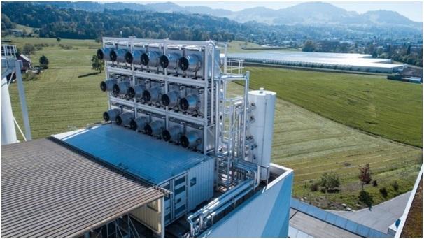 Nhà máy có thể hút 900 tấn CO2 mỗi năm.