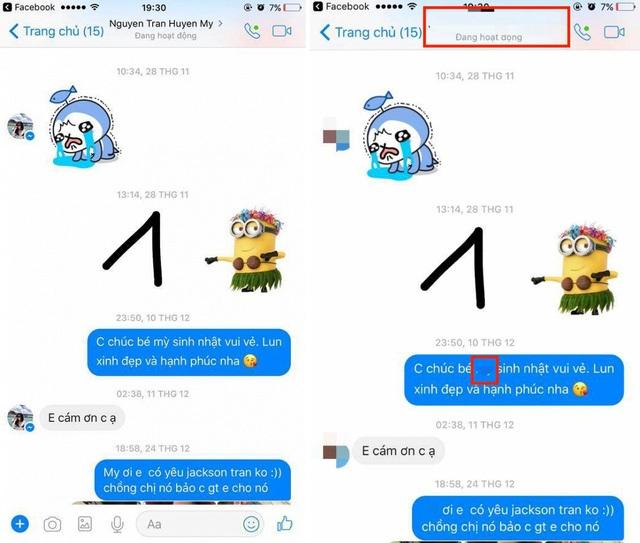 Sau khi có luật sư can thiệp, cô gái T.H xóa tên Huyền My trong phần nội dung tin nhắn trong tất cả những nội dung đã đăng tải.