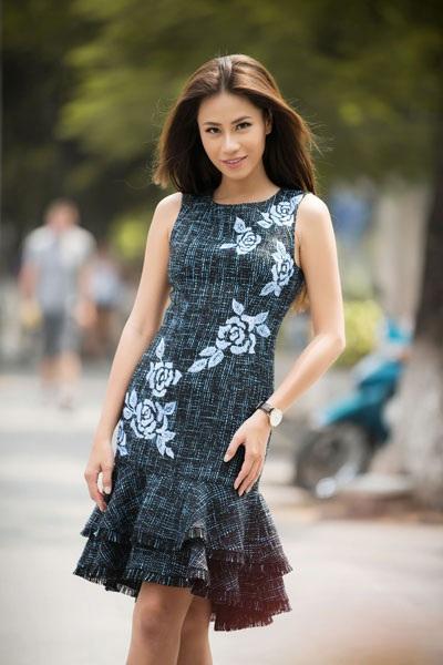 Á khôi Huỳnh Yến Nhi từng một lần bỏ lỡ cơ hội dự thi Miss Grand International vì trục trặc Visa. Ảnh: TL.