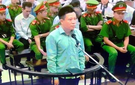 Hà Văn Thắm tại phiên xử sơ thẩm lần 2 ngày 28/8.