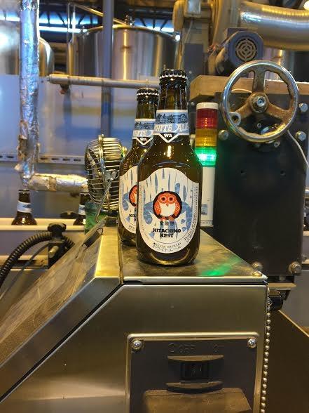 Một xưởng sản xuất bia ở Ibaraki đón khách tour đến thăm